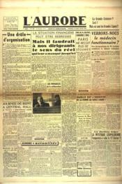 Aurore (L') N°455 du 03/02/1946 - Couverture - Format classique