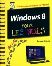 Windows 8 pas à pas pour les nuls - Couverture - Format classique