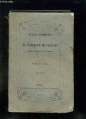 Oeuvres Posthumes De Philippe Duplessis Imprimees En Execution De Son Testament. Tome 2. - Couverture - Format classique