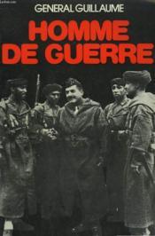 Homme De Guerre. - Couverture - Format classique