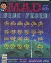 Mad N°8 - Les Nouveaux Jeux Video - Les Gueux De 20h ... - Couverture - Format classique