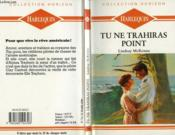 Tu Ne Trahiras Point - No Surrender - Couverture - Format classique