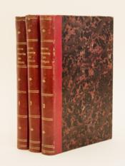 Moeurs et Vie privée des Français dans les premiers siècles de la monarchie (3 Tomes - Complet) - Couverture - Format classique