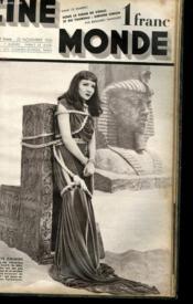 CINEMONDE - 7e ANNEE - N° 318 - SOUS LE SIGNE DE VENUS ET DU TAUREAU: SIMONE SIMON - S'ILS ETAIENT ROIS..., GRANDE ENQUETE DE JACQUELINE LENOIR... - Couverture - Format classique