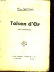 Toison D'Or - Couverture - Format classique