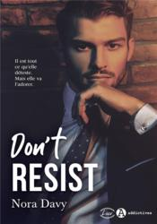 Vente  Don't resist  - Nora Davy