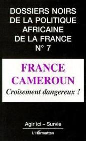 France Cameroun ; croisement dangereux ! - Couverture - Format classique