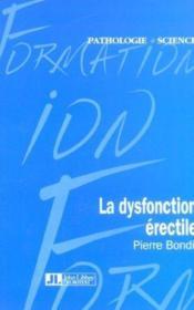 La Dysfonction Erectile - Couverture - Format classique