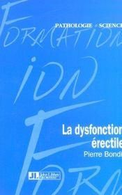 La Dysfonction Erectile - Intérieur - Format classique
