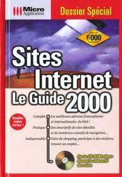 Dossiers Special Sites Internet Le Guide 2000 - Intérieur - Format classique