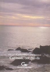 Carmen, cet été-là - Intérieur - Format classique