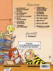 L'élève Ducobu t.11 ; peut mieux faire ! - 4ème de couverture - Format classique