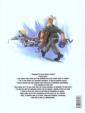 Lieutenant Mac Fly T.3 ; Le Fou Mandchou - 4ème de couverture - Format classique