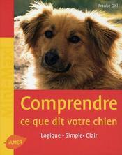 Comprendre ce que dit votre chien - Intérieur - Format classique