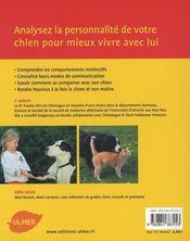 Comprendre ce que dit votre chien - 4ème de couverture - Format classique