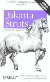 Jakarta Struts Precis Et Concis - Couverture - Format classique
