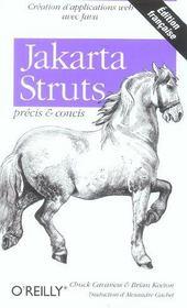Jakarta Struts Precis Et Concis - Intérieur - Format classique