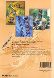 Bracelets D'Amities - 4ème de couverture - Format classique