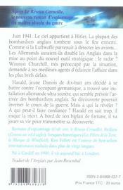 Le vol du frelon t.1 - 4ème de couverture - Format classique