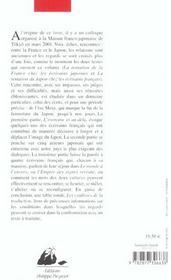 Tentation De La France, La Tentation Du Japon (La) - 4ème de couverture - Format classique