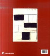 Sean scully une retrospective - 4ème de couverture - Format classique
