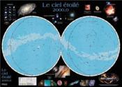 Le ciel étoilé 2000,0 carte - Couverture - Format classique