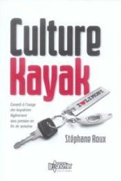 Culture kayak - Couverture - Format classique
