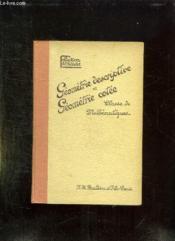 Geometrie Descriptive Et Geometrie Cotte. Classe De Mathematiques. - Couverture - Format classique