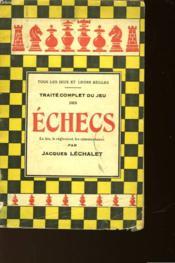Les Echecs - Couverture - Format classique