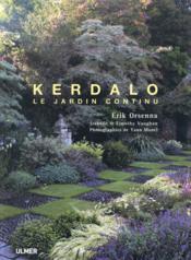 Kerdalo ; le jardin continu - Couverture - Format classique