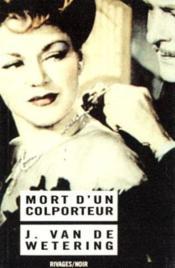 Mort d'un colporteur - Couverture - Format classique