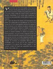 Les carnets secrets de Li Yu ; un art du bonheur en Chine - 4ème de couverture - Format classique