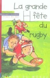 La grande fête du rugby - Couverture - Format classique