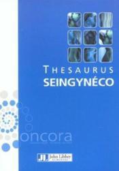 Thesaurus Seingyneco - Couverture - Format classique
