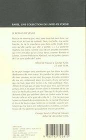 Le roman de Venise - 4ème de couverture - Format classique