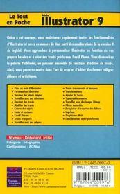 Le Tout En Poche Illustrator 9 - 4ème de couverture - Format classique