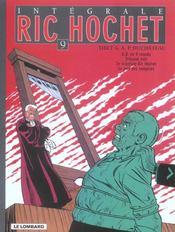 Ric Hochet ; intégrale t.9 - Intérieur - Format classique