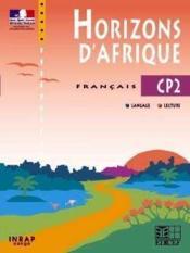 Horizons D'Afrique Cp2 (Congo) - Couverture - Format classique