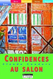 Confidences au salon - Couverture - Format classique