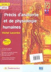 Precis D Anatomie Et De Physiologie - 28 Edition 2 Volumes - 4ème de couverture - Format classique