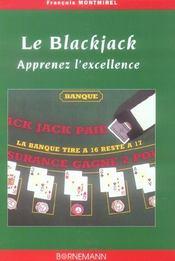 Blackjack Apprenez L'Excellence - Intérieur - Format classique