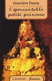 L'épouvantable petite princesse - Couverture - Format classique