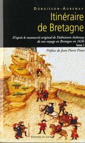 Itineraire De Bretagne En 1636 - Intérieur - Format classique