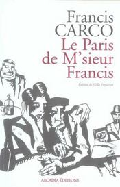 Le Paris De M'Sieur Francis - Intérieur - Format classique