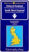 Angleterre Du Sud-Ouest 1/200 000 - Couverture - Format classique