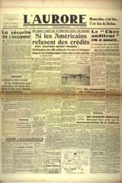 Aurore (L') N°458 du 07/02/1946 - Couverture - Format classique