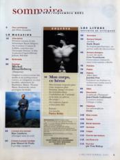 Lire du 01/09/2001 - Intérieur - Format classique