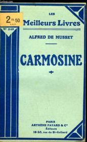 Carmosine - Couverture - Format classique