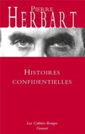 Histoires confidentielles - Couverture - Format classique