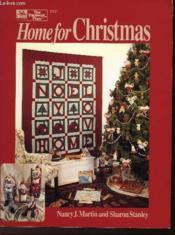 Home For Christmas - Couverture - Format classique